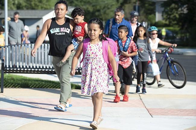 RÉCORD. MCPS recibió a 163,500 estudiantes en las 206 escuelas del distrito, durante el inicio del ciclo escolar 2018-19.