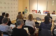 COMUNIDAD. El evento comunitario organizado por CASA planteó el riesgo de que la información de centros de salud comunitarios sea compartida con el gobierno federal.