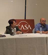 CASA. La organización invitó a los expertos para enfatizar que se debe hablar del Acta de Confianza en el marco de los servicios de salud.