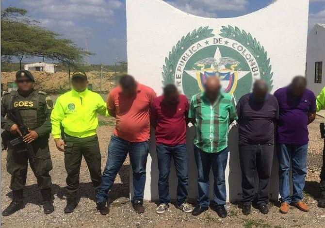 Detienen a traficantes de armas que usaban las trochas de la frontera colombo-venezolana