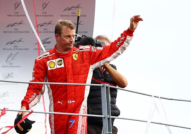 Raikkonen deja Ferrari y se muda a Alfa Romeo Sauber