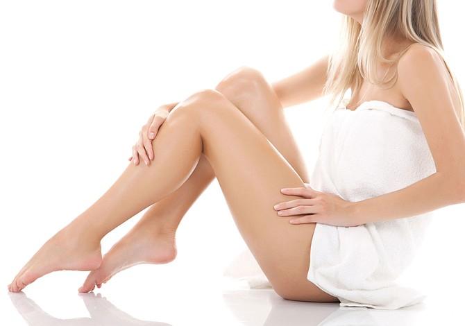 Evita la irritación después de una sesión de depilación
