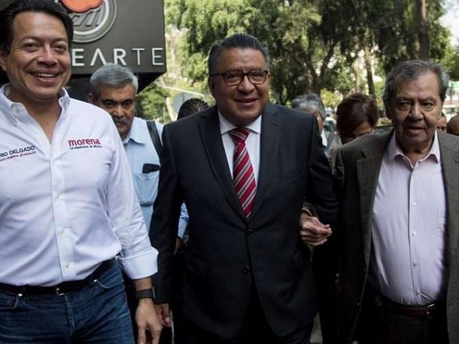 MÉXICO. Mario Delgado Carrillo, el líder de los diputados de Morena
