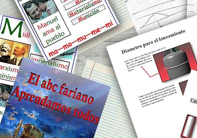 El abecedario guerrillero, el origen del mundo y cómo tomar un pueblo: los manuales de las Farc