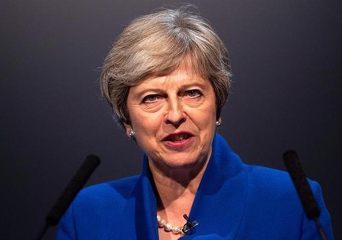 Al menos 50 legisladores quieren la dimisión de la primera ministra británica