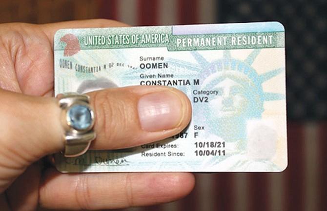 Cambios para portadores de la 'green card'