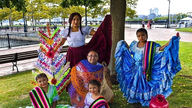 Trajes típicos de El Salvador