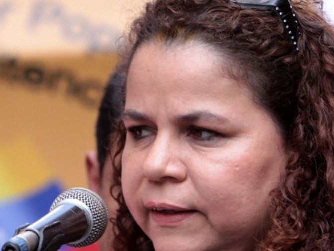 VENEZUELA. Iris Varela, ministra penitenciaria de Venezuela