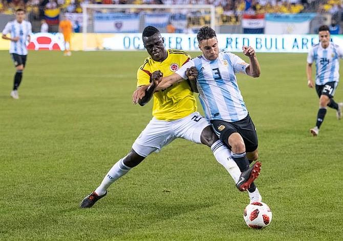 Argentina y Colombia no se hicieron daño