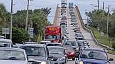 Evacuación masiva en parte de la Costa Este