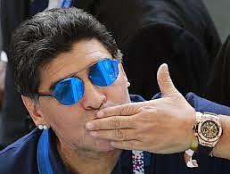 DEPORTE. Maradona aseguró que tanto el presidente venezolano, Nicolás Maduro, como el presidente boliviano, Evo Morales, ofrecieron que estuviese a cargo de la selección de fútbol de los países que representan, pero no lo aceptó.