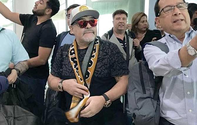 Maradona en Sinaloa