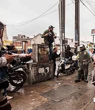 COLOMBIA. Fueron atacados por las autoridades