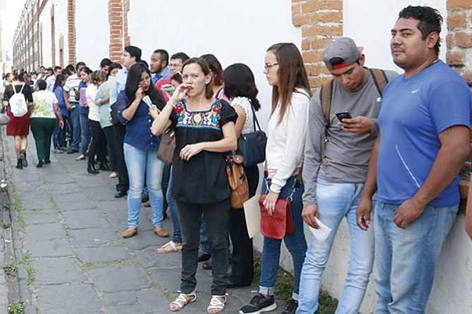 Aumentó el número de trabajadores registrados ante el IMSS