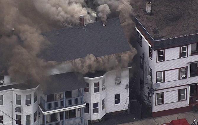 Decenas de incendios y explosiones de gas sacudieron Lawrence, North Andover y Andover este jueves 13 de septiembre