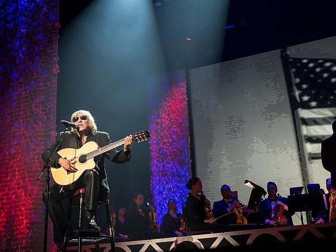 José Feliciano en la edición número 31 de los Hispanic Heritage Awards    Foto: Yunuen Bonaparte - Cortesía HHF