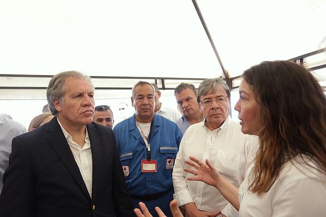 MIGRACIÓN. La operación está a cargo de la Cruz Roja Colombiana