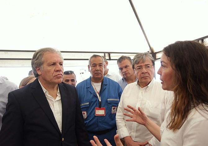 Delegación internacional conoció el Centro de Atención Transitoria al Migrante en Colombia