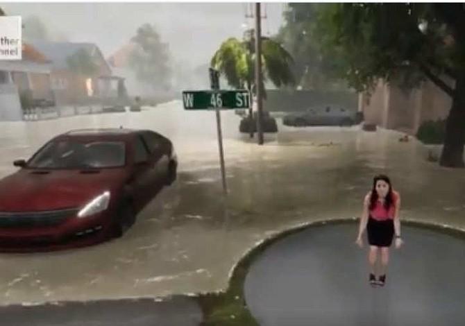 Se viraliza impactante video que explica los efectos de Florence en EE.UU.