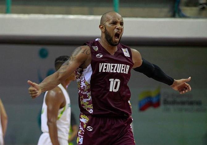 Venezuela acaricia la clasificación al mundial de baloncesto