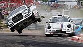 EMOCIONANTE. El rallycross combina aspectos de los rallies con pruebas en circuito. La superficie es mixta para que los fans disfruten de las acciones más espectaculares.