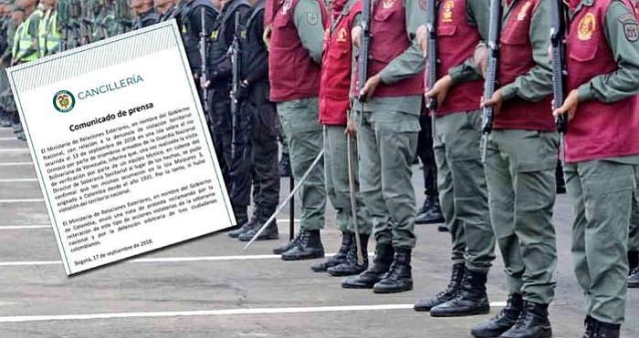 Colombia protesta ante Venezuela por violación territorial