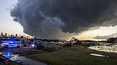 NATURALEZA. Grandes franjas de Virginia han estado bajo alerta de tornados y advertencias mientras los restos de Florence se mueven hacia el norte.