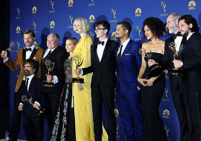 """Emmy 2018: """"Game of Thrones"""" se convierte en la serie más premiada de la historia"""
