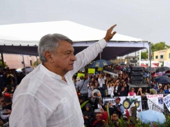 MÉXICO. Andrés Manuel López Obrador, presidente electo de México