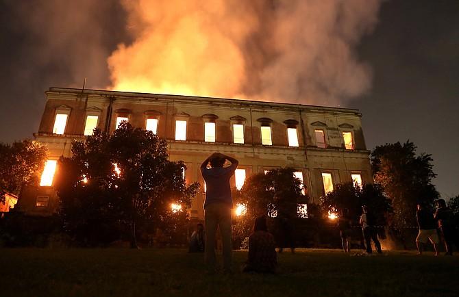 """MUSEO. """"No existe en este momento ninguna solución mágica que permita reconstruir el museo en unos meses"""", dijo el representante de la Unesco en Brasil, Marlova Jovchelovitch Noleto."""