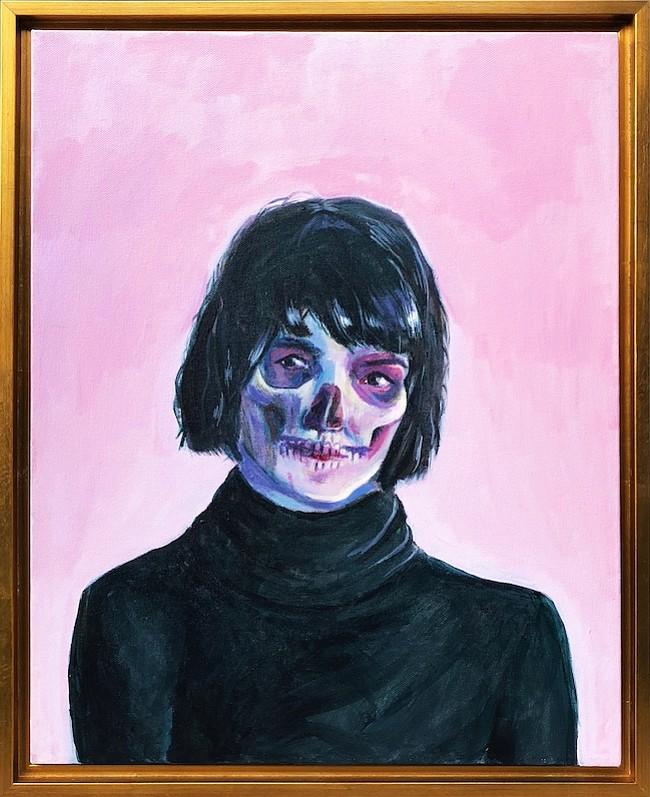 """Can You See Right Through Me"" (¿Puedes ver a través de mí?) por Katty Huertas."