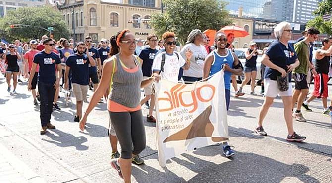 AIDS Walk Austin 2018.