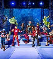 Marvel Universe LIVE! will travel throughout North America on a multiyear tour.