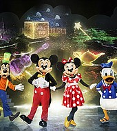 Mickey's Search Party will feature a collection of Disney characters fans know and love portrayed by decorated performer-athletes who push the boundaries of what is possible.