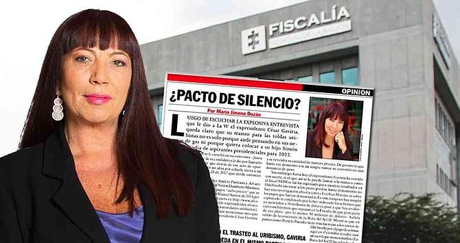 COLOMBIA - Fiscal interpone tutela contra María Jimena Duzán por una columna de opinión del caso Odebrecht