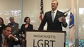 El gobernador Baker será el primer gobernador en todo Estados Unidos en expandir el programa de diversidad de proveedores del estado para incluir negocios de propietarios LGBT. | FOTO: Cortesía ASG