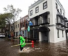 Las lluvias provocaron anegaciones e inundaciones.