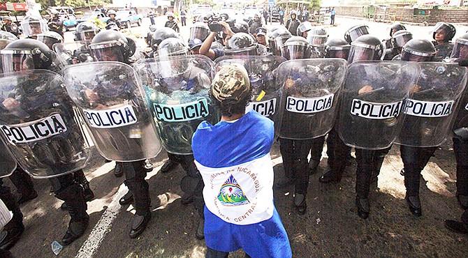 PROTESTAS. Según la Asociación Nicaragüense Pro Derechos Humanos (Anpdh), hasta el pasado cuatro de septiembre la cifra era 481 muertes en medio de la crisis pero se ha actualizado.