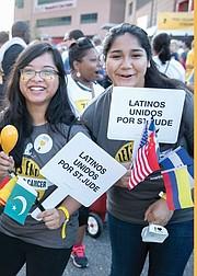 LATINOS. El llamado de la institución es a la participación de la comunidad latina en esta causa que salva vidas de niños