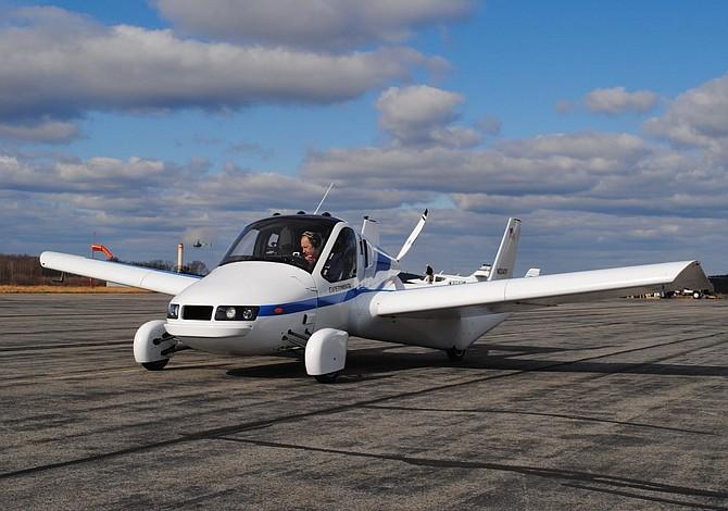 """Automóvil volador """"Transition"""" despegará en octubre"""