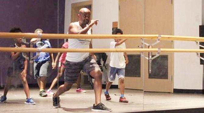 Clases de capoeira.