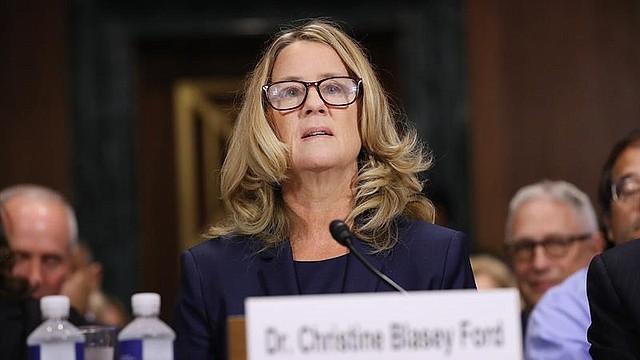 WASHINGTON. Christine Blasey Ford, una de las presuntas víctimas de abusos por parte del juez nominado al Tribunal Supremo Brett Kavanaugh