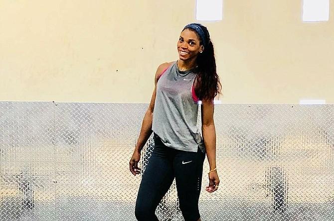 DEPORTE. Foto de archivo que muestra a la atleta colombiana Caterine Ibargüen