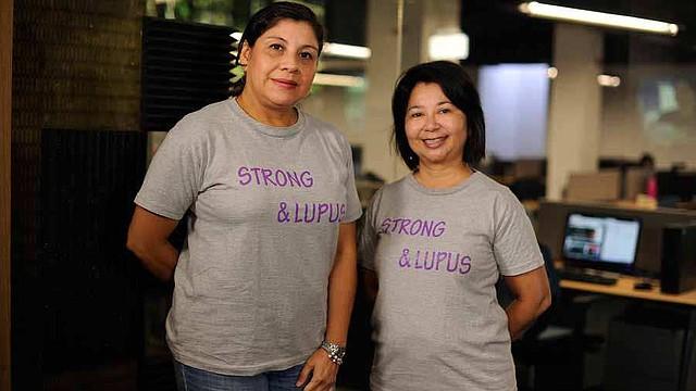 EL SALVADOR. Glenda Chávez y Claudia de Imery llevaban una vida aparentemente normal, hasta que el lupus las sorprendió y atacó su sistema inmunitario