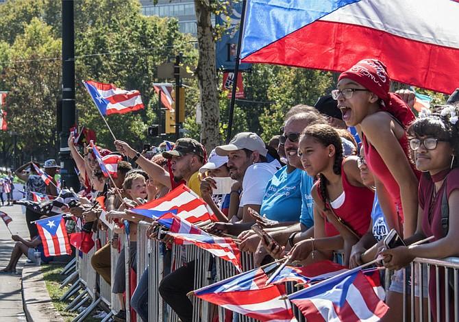 La cultura invadió el Desfile Puertorriqueño en Filadelfia