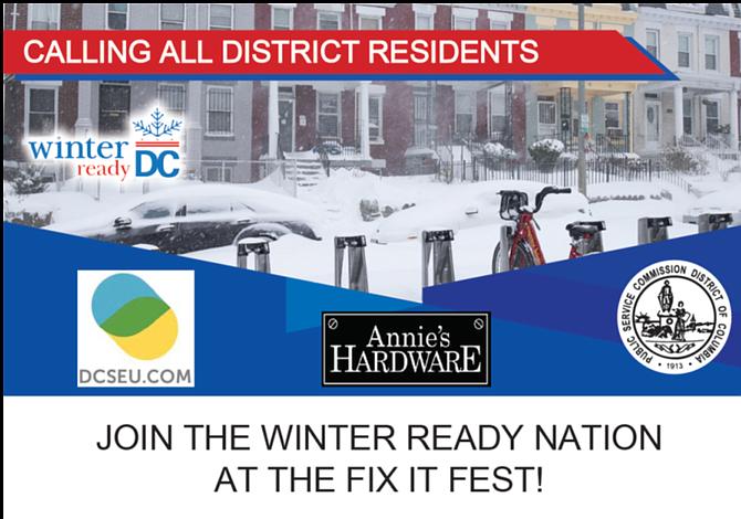 Winter Ready DC, un encuentro para ayudar a los residentes del área metropolitana a preparar sus hogares para el invierno