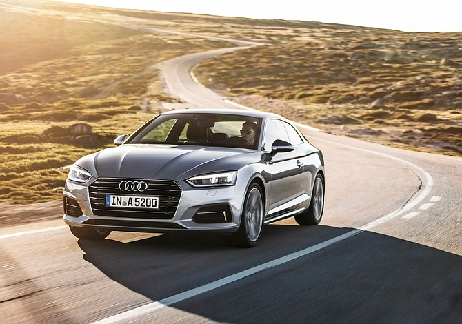 Audi A5 es un coupé lleno de feromonas