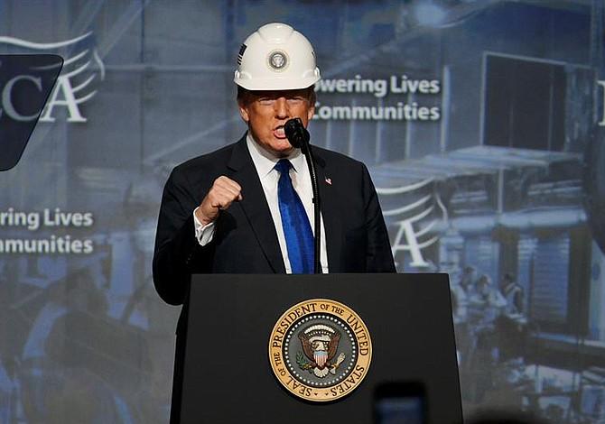 Trump en Filadelfia resalta generación de nuevos empleos