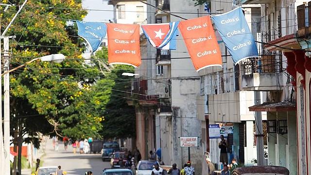 CUBA. Vista general de una de las calles de La Habana