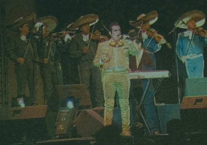 Así fue el histórico primer concierto de Vicente Fernández en El Salvador